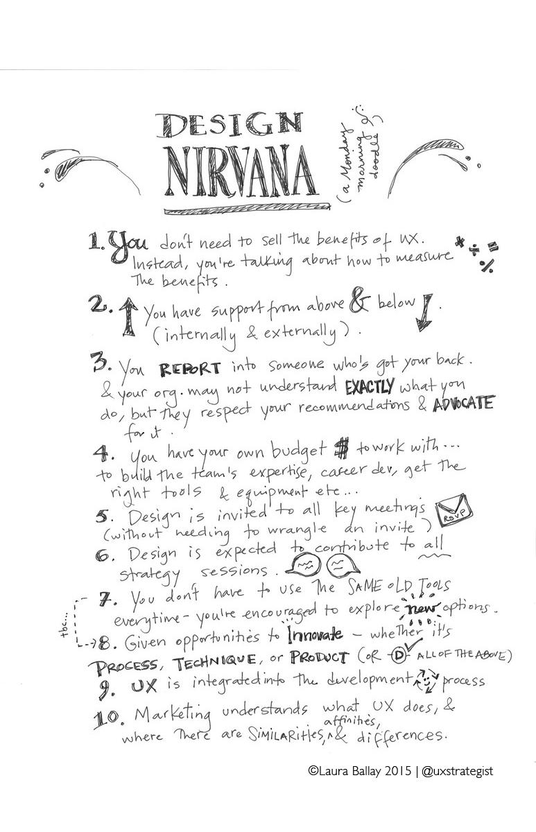 What would design nirvana look like?
